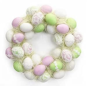 Lacey's Easter Egg Wreath