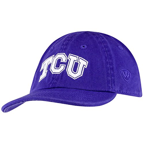 Top of the World TCU Horned Frogs Infant Hat Icon, Purple, Adjustable