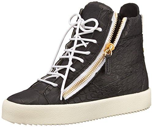 Giuseppe Zanotti Women's Fashion Sneaker, Black, 6.5 M US