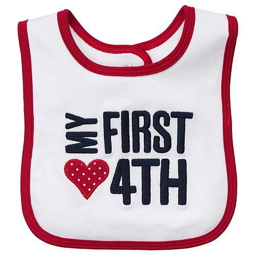 Carter's Bib - My First 4th-One Size