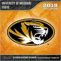Calendario Tiger 2019.Missouri Tigers 2019 Calendario Lang Holdings Inc