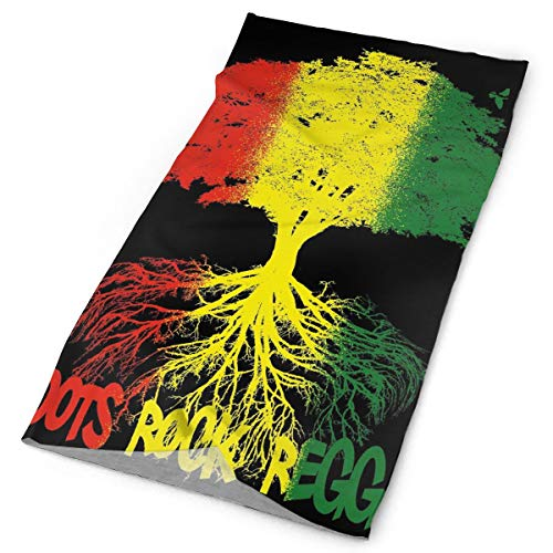 PX PSSL Clothing Accessories 12-in-1 Headwear - UPF 30 Versatile Outdoors Daily Headwear - Rastafarian Reggae Rasta Style Tree Headband Neck Gaiter Bandana Balaclava