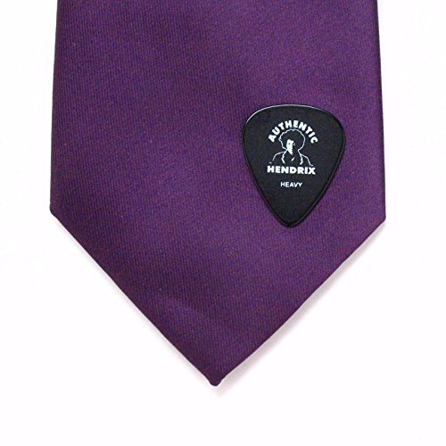 Jimi Hendrix Guitar Pick Lapel Pin Tie Tack Music Hippie 60's Rock Classic Black