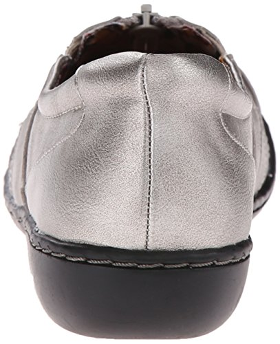 Hush Puppies Soft Style Womens jennica Loafers Dark Pewter Leather