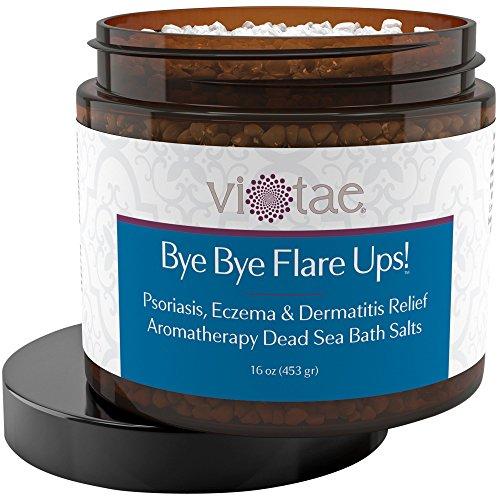 - Full Body Psoriasis, Eczema & Dermatitis Relief Aromatherapy Dead Sea Bath Salts -