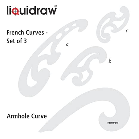 Drafting Templates 3 Individual French Curves French Curves Set
