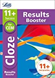 Letts 11+ Success – 11+ Cloze Results Booster: for the CEM tests