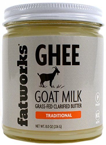 Fatworks Grass-Fed Goat Milk Ghee (8 ounce) by Fatworks