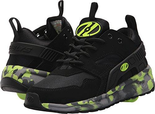 Heelys HE100095H Kid's Force Sneakers, Black/BrightYellow/Confet - 2