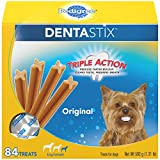 Pedigree DENTASTIX Toy/Small Dental Dog Treats Original, 1.3 lb. Pack (84 Treats)