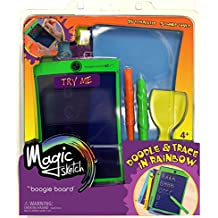 Magic Sketch   LCD Writing Board, Drawing, Doodle, Learning Tablet   Includes 18 Stencils, 4 Styluses   Kids, Office, School, House, Car Rides and More