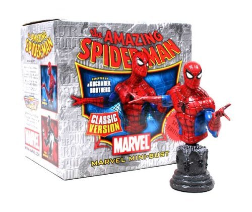 Spider-Man Classic Outfit Mini-Bust by Bowen Designs