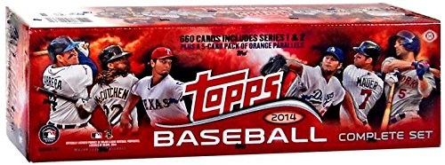 [2014 Topps Collectible Trading Cards HOBBY Factory MLB Baseball Set - 660 cards + bonus orange parallels pack!] (Baseball Parallel Card)