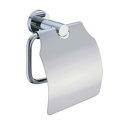 7trees Single Roll Tejido portarrollos de papel higiénico de baño dispensador de cocina de acero inoxidable