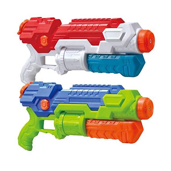JOYIN 2 Pistole ad Acqua Potenti Bambini Adulti Super Soaker Superliquidator Fucile ad Acqua Giardino Giocattolo di… 1 spesavip