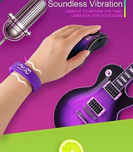 Smart Sport Watch, YiMiky Smart Bracelet Fitness Tracker Wristband Watch with Pedometer Calories Monitor, Sleep Monitor Waterproof Bracelet for Kids Women Men-Purple