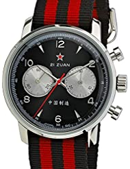 Seagull 1963 Hand Wind Mechanical Chronograph with Black Dial 6488-2901