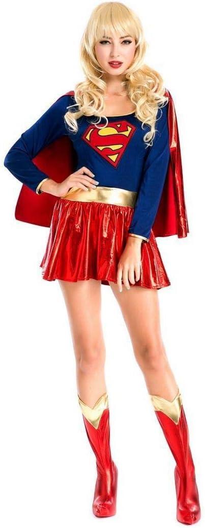 Sttsale Disfraz Halloween, Cosplay de Halloween Traje Superwoman ...