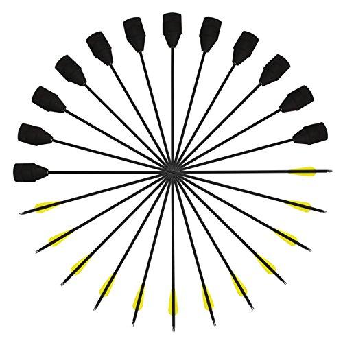 SinoArt Foam Tip Safe Combat Archery Carbon LARP Arrow (12 ()
