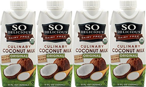 SO DELICIOUS COCONUT MILK, 11 OZ - (Pack of 4)