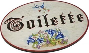 kaltner präsente - targa per porta, in legno, stile vintage ... - Targhe Per Toilette