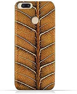 Xioami MI A1 TPU Silicone Case with Natural Dried Leaf