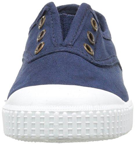 30 Niños Victoria Zapatillas Tintada Inglesa Marino Punt Bleu Lona w4P4Xq0