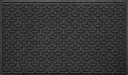 Bungalow Flooring Waterhog Indoor/Outdoor Doormat, 3' x 5', Skid Resistant, Easy to Clean, Catches Water and Debris, Ellipse Collection, ()