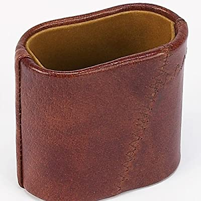 Madison Avenue Genuine Leather Dice Cup: Toys & Games