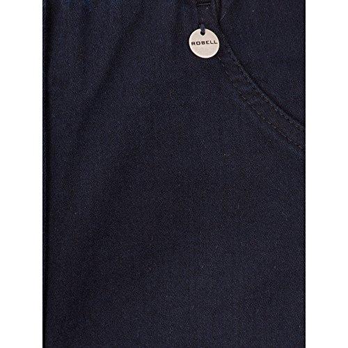 Marino Azul Mujer Vaqueros Trousers Robell Para Oscuro fgqvC8awx