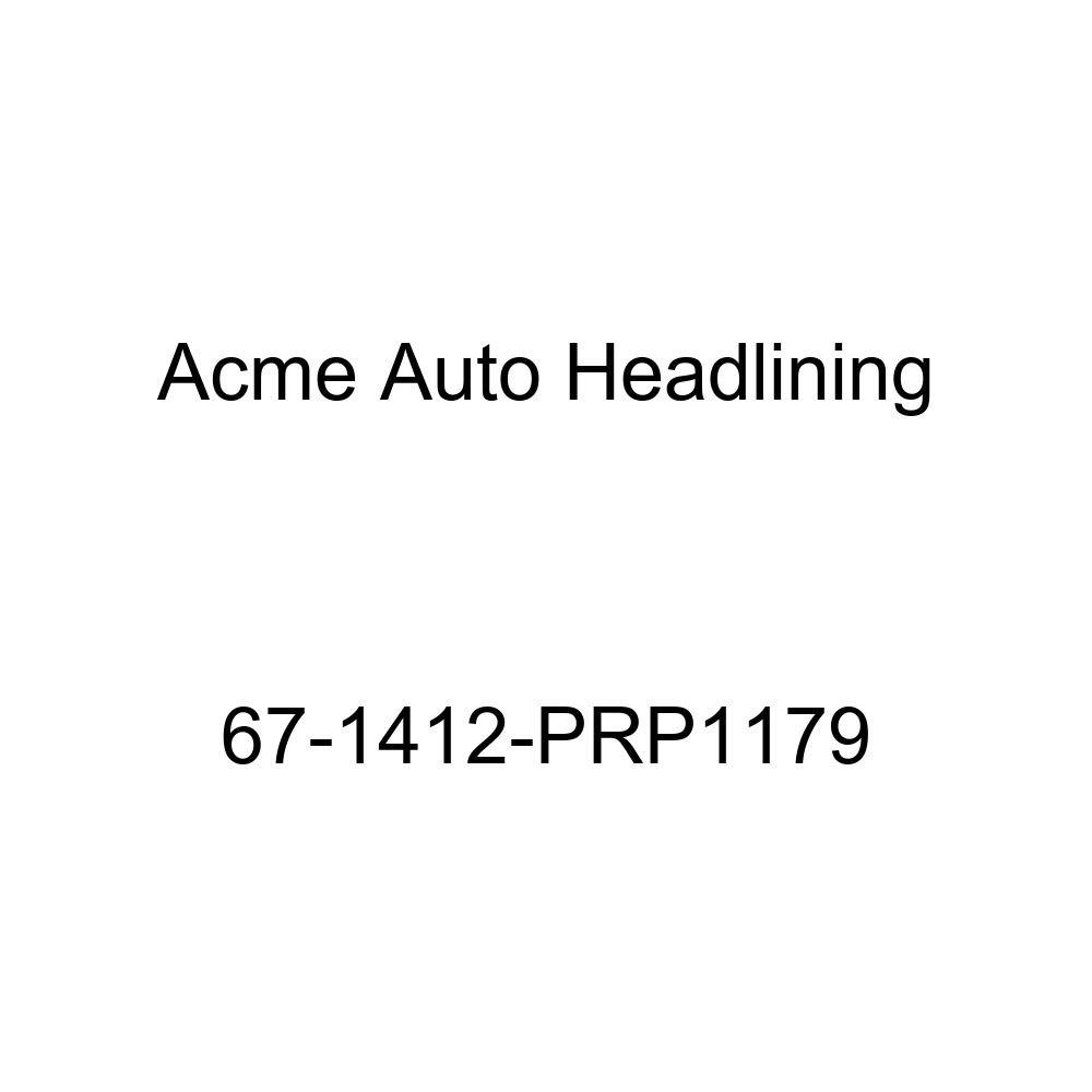 Chevrolet Caprice 2 Door Hardtop 6 Bow Acme Auto Headlining 67-1412-PRP1179 Black Replacement Headliner