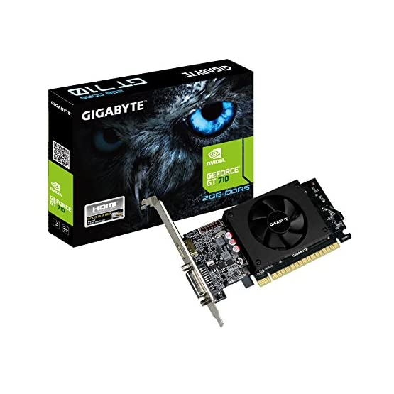 Gigabyte GeForce GT 710 2GB Graphic Cards and Support PCI Express 2.0 X8 Bus Interface. Graphic Cards GV-N710D5-2GL 51F2tw%2BTvuL. SS555