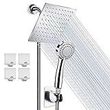 Best Shower Heads - High Pressure 8'' Rainfall Stainless Steel Shower Head/Handheld Review