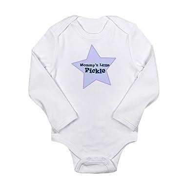 CafePress - I0102062252037 - Cute Long Sleeve Infant Bodysuit Baby Romper  Cloud White 227e5bfe9