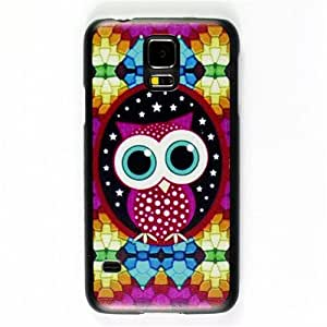 Super Bright Colorful Owl Hard Back Cover Skin Protector Phone Case For Samsung Galaxy S5 S 5 SV i9600