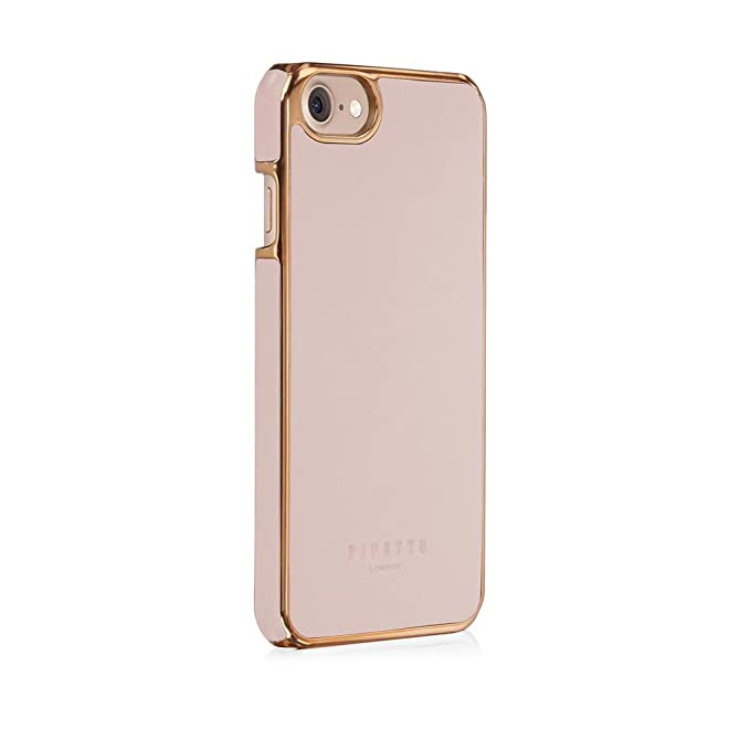 new arrival dce77 3e6a1 iPhone 7 Case - Pipetto Magnetic Snap Case Ultra Thin Premium Leather Cover  - Lightweight Slim Hard Shell (Compatible with iPhone 6/6S/7/8) - Dusty ...