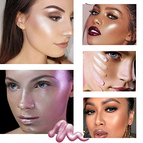 NICEFACE Face Makeup Glow Liquid Highlighter Illuminator (5 colors)