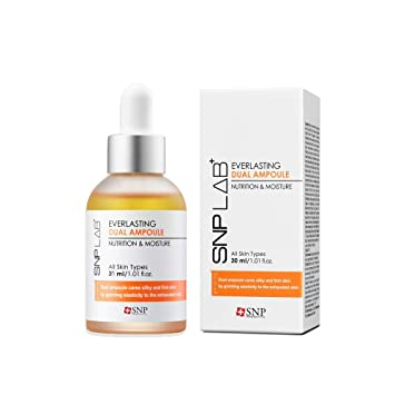 SNP Lab+ | Everlasting Dual Ampoule | Total Facial and Skin Serum | 30ml