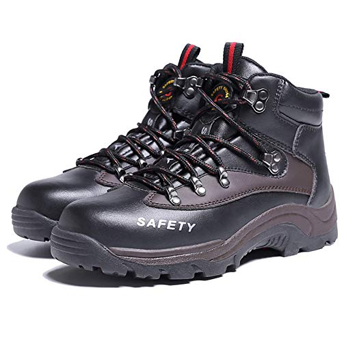 Shoes SUADEX for 117 Work Warm Men Boots Toe Boots Work Boots black Mens Steel Safety Gbd qqvTrEnw