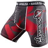 Hayabusa Metaru 47 Silver Compression Shorts