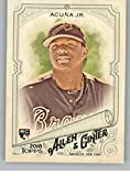 #8: 2018 Allen and Ginter #207 Ronald Acuña Jr. Atlanta Braves Rookie Baseball Card - GOTBASEBALLCARDS