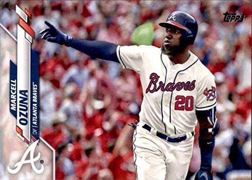 Amazon.com: 2020 Topps Series 2 Baseball #537 Marcell Ozuna Atlanta Braves  Official MLB Trading Card: Collectibles & Fine Art