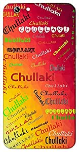 Chullaki (Add Meaning) Name & Sign Printed All over customize & Personalized!! Protective back cover for your Smart Phone : Samsung Galaxy A-5