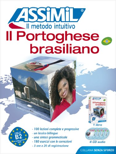 Assimil pack cd il portoghese brasiliano - Book + 4 CD's (French Edition)