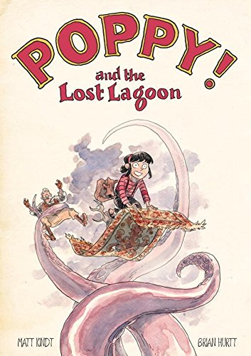 Book Cover: Poppy! and the lost lagoon