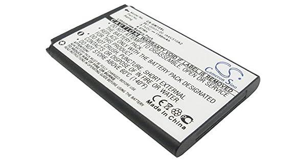 Amazon.com: Batería para Garmin GPS Mobile 10 10 x GPS10 010 ...