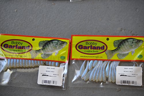 Bobby Garland Baby Shad 18 ct. 2 pks monkey milk