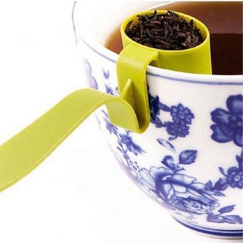 Creative Cute Cup Edge Tea Strainers Filter.
