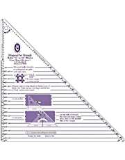 Marti Michell 6-Inch to 16-Inch Diagonal Set Triangle Ruler