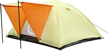 Le Papillon 4-Pesron Backpacking Tent with Carrying Bag